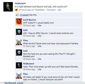 Loki vs. Sauron