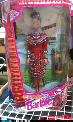 Introducing Politically Incorrect Barbie!