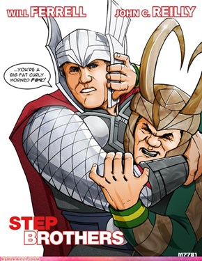 Thor And Loki: Step-Brothers