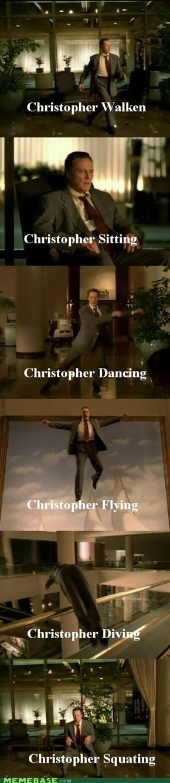 The Adventures of Christopher Walken