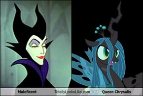 Maleficent Totally Looks Like Queen Chrysalis