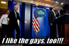 I like the gays, too!!!