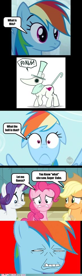 Rainbow Dash Meet Excalibur