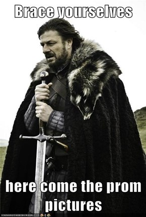 Brace yourselves  here come the prom pictures