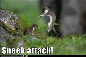 Sneek attack!