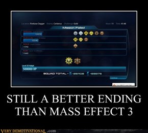 STILL A BETTER ENDING THAN MASS EFFECT 3