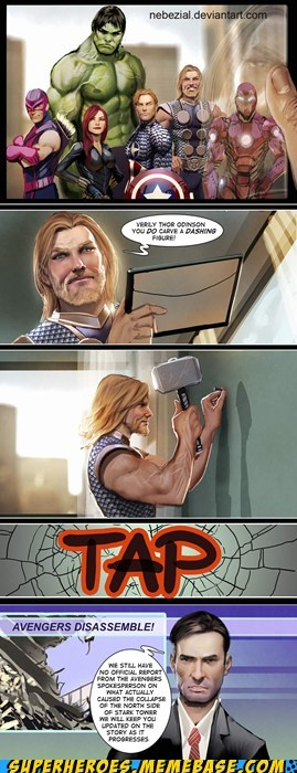 Thor Redecorating