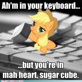 Applejack Loves You