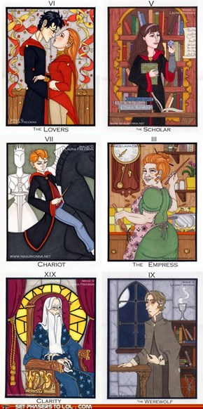 Harry Potter Tarot Cards