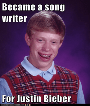 Became a song writer  For Justin Bieber
