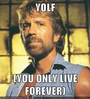YOLF  (YOU ONLY LIVE FOREVER)