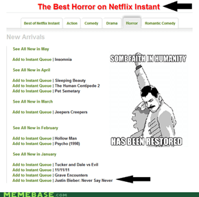 Justin Beiber Horrors
