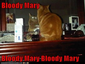 Bloody Mary  Bloody Mary Bloody Mary