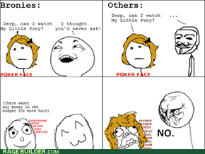 The Difference between bronies and regular people (for beginners)
