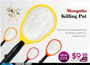 Pat Hates Mosquitos