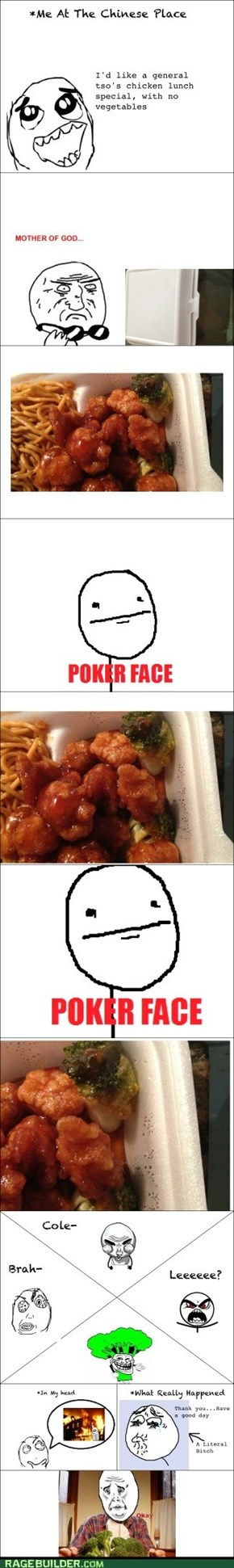 Chinese Food Rage