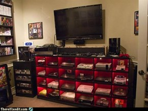 TIFI WIN: Who Says Gamers Are Messy?