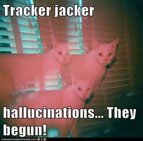 Tracker jacker  hallucinations... They begun!