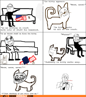 Kitty-troll