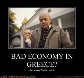 BAD ECONOMY IN GREECE?