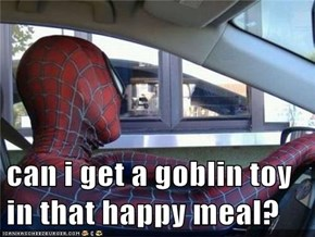 can i get a goblin toy in that happy meal?