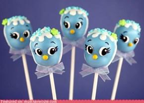 Epicute: Birdie Cake Pops