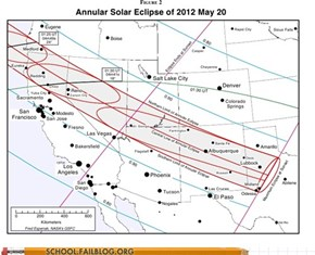 Where to Go to View Sunday's Solar Eclipse
