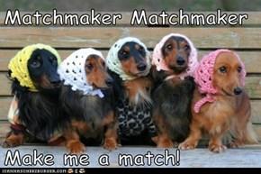 Matchmaker Matchmaker  Make me a match!