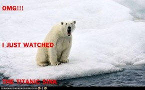 OMG!!! I JUST WATCHED THE TITANIC SINK