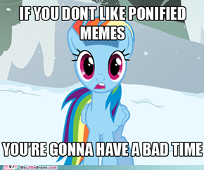 Ponify ALL the memes!