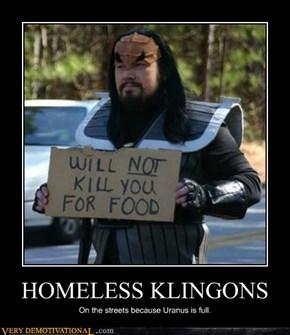 HOMELESS KLINGONS