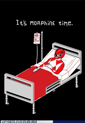 The High-ty Morphine Power Rangers