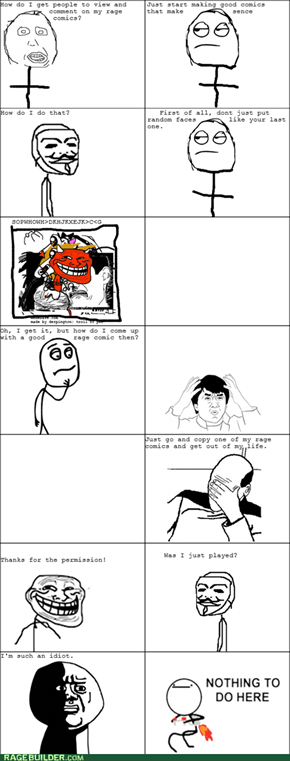 First World Problems Help: Making Good Rage Comics
