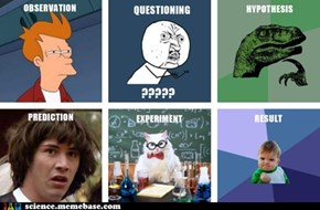 Scientific method - meme version