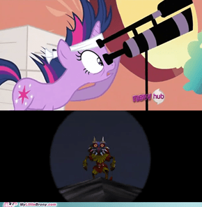 What is Twilight Looking at?