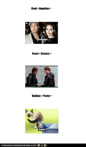 Katniss + Peeta =