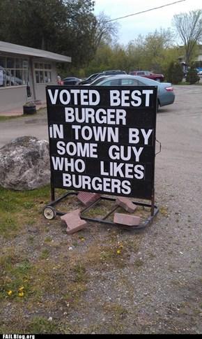 Best Burgers FAIL