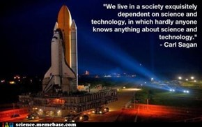 More Wise Words from Dr. Sagan