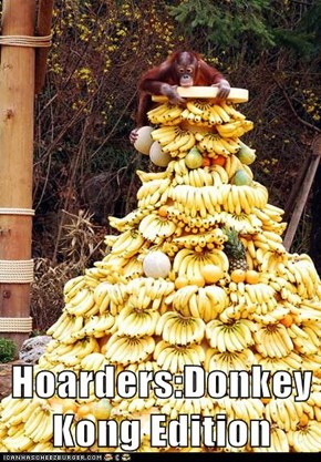 Hoarders:Donkey Kong Edition