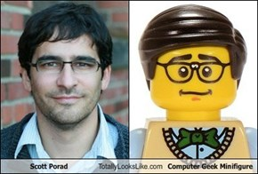 Scott Porad Totally Looks Like Computer Geek Minifigure