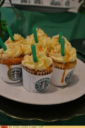 Starbucks Frappuccino Cupcakes