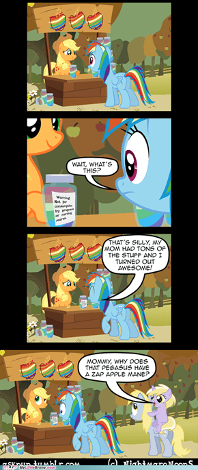 How Rainbow Dash got 20% Cooler!