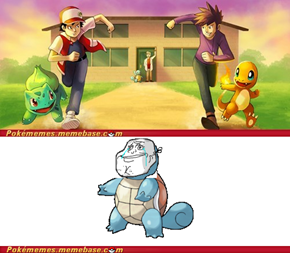 Forever a Squirtle