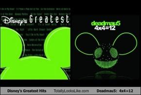 Disney's Greatest Hits Totally Looks Like Deadmau5:  4x4=12