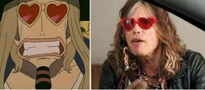 Jango from One Piece Totally Looks Like Steven Tyler