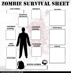 ZSS: Zombie Survival Sheet