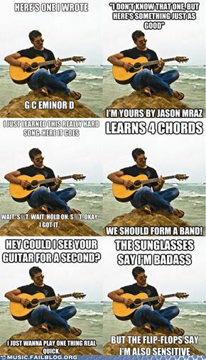 The Best of Douchebag Guitarist