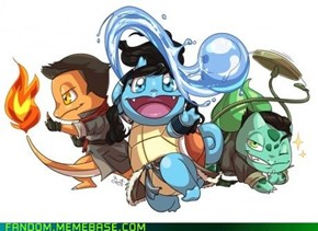 Legend of the starters
