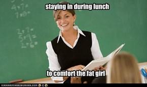 Sweet Teacher Sarah
