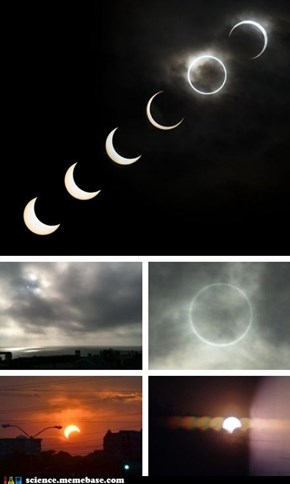 Eclipse Images From All Over The World